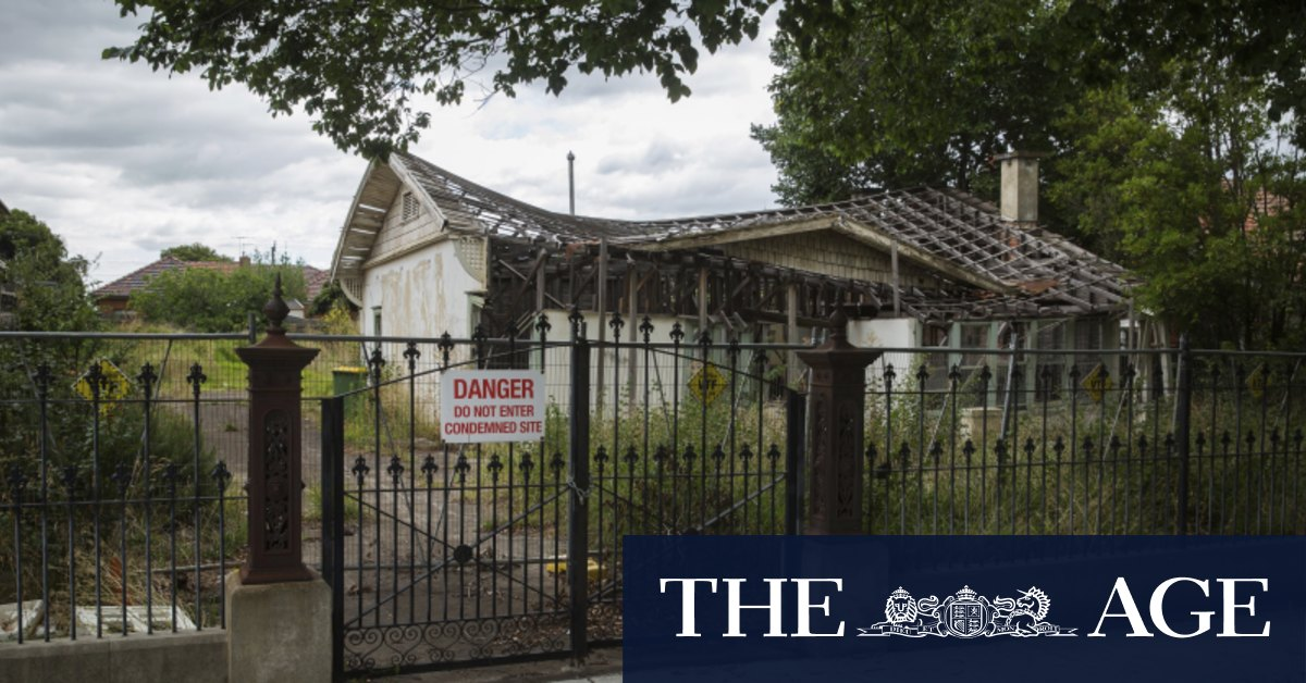 Council refuses demolition of derelict house in statement against 'demolition by neglect'