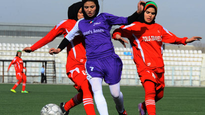 'It's incredible': Australia's plan to resettle Afghan refugees through football