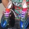 Indigenous suicide rates are inspiring Walker to give up his boots with sons on them