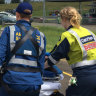 Woman with burns in coma after incident at Sydney motorsport event