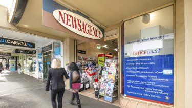 628 Burke Road is the long-term home of Camberwell Newsagency.