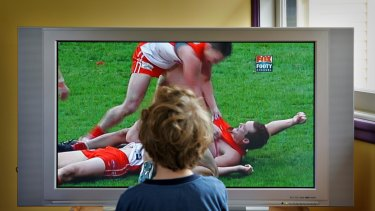 TV audiences for AFL in Tasmania are stronger than in Queensland.