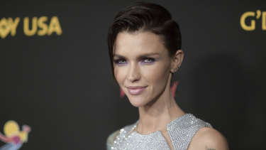 Australian actress Ruby Rose.
