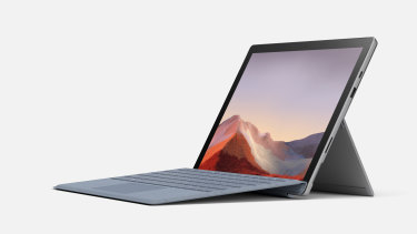 The Surface Pro 7 looks a lot like previous models, but has some important tweaks. The keyboard cover, pen and other accessories are still sold separately.
