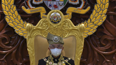 Malaysian King Sultan Abdullah Sultan Ahmad Shah had a stint in hospital.