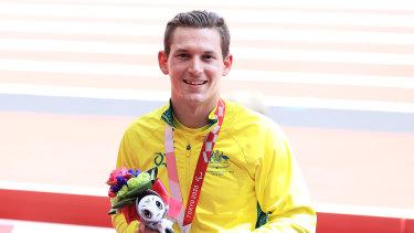 Silver medallist Rheed McCracken.