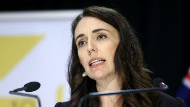 Her team of five million; New Zealand Prime Minister Jacinda Ardern last week.