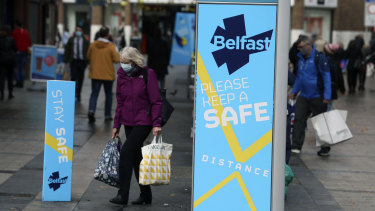 Northern Ireland has introduced tough restrictions as some countries opt for more targeted shutdowns.