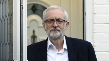 Labour leader Jeremy Corbyn is benefiting from a dramatic fall in support for the Tories.