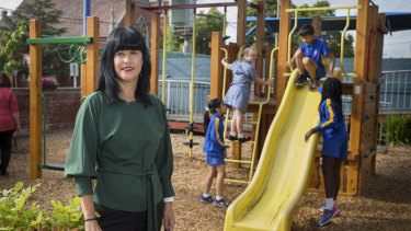 St John's Primary School principal Kerrie Campagna says the Catholic school in Clifton Hill could face closure if the funding model for non-government schools is not changed.
