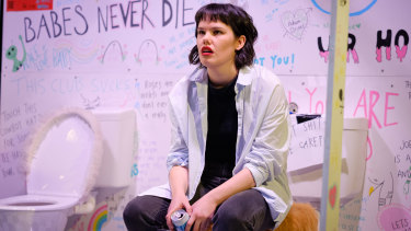 Jenna Suffern is a particularly bright spark as an anxious lesbian fresh off a break-up.