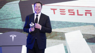 Tesla's Elon Musk had been locked in a public dispute with Alameda County officials.