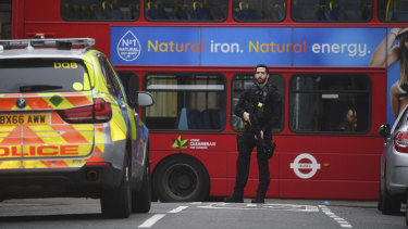 The incident on Sunday was the third terrorist attack in Britain in the past two months.