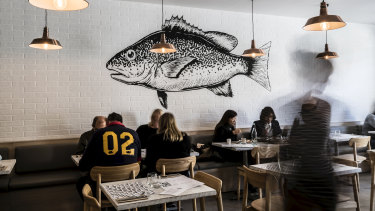 Fich at Petersham brings more than fish and chips to the menu.