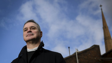 Melbourne Catholic Archbishop Peter Comensoli.