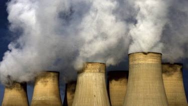 Coal-fired power plants are being phased out across the United Kingdom.