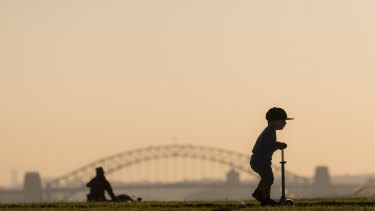 Almost one in every seven days last year saw air quality quality fall below national standards in parts of Sydney.