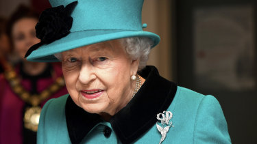 Queen Elizabeth issued a message to the public overnight.