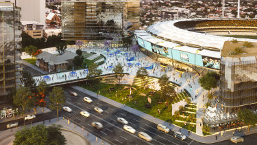 Latest Gabba redevelopment plans 2018 after 2018 Master Plan released.