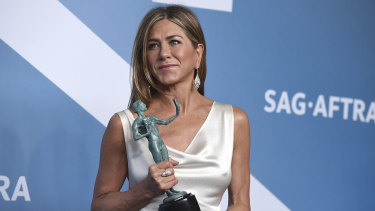 Jennifer Aniston won a SAG Award for her work in Morning Wars.