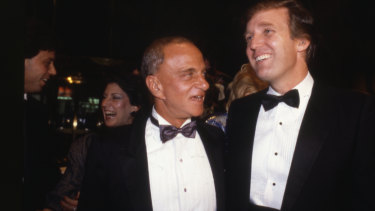 Roy Cohn had a significant influence on the young Donald Trump.