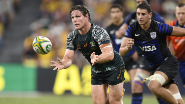 Michael Hooper and the Wallabies have won three straight matches.