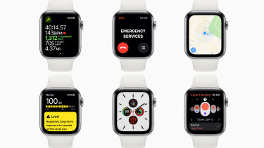 Many Apple Watch models feature both aluminium and silicon.