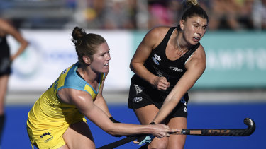 The Hockeyroos' qualifying campaign will continue after failing to get past New Zealand.