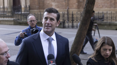 Ben Roberts-Smith is suing his ex-wife over claims she leaked confidential information related to his defamation trial.