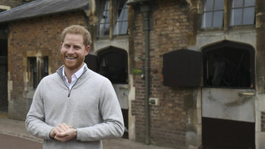 Prince Harry announces the birth of his baby son.