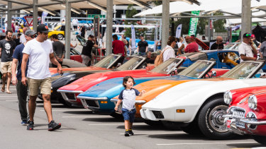The Annual All American Car Show will be held at Macarthur Square on Sunday.