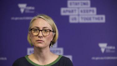 Victoria's former Deputy Chief Health Officer Annaliese van Diemen