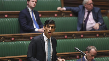 Could be called to testify. Britain's Chancellor of the Exchequer Rishi Sunak.