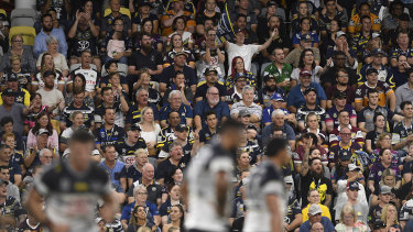 The NRL is forging ahead with its plans to complete the 2020 season behind closed doors.