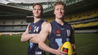 Noah Anderson and Matt Rowell may be the top two picks in this year's national draft.