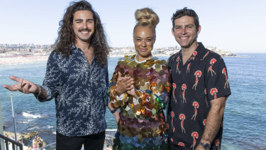 Mambo Brothers and Connie Mitchell of Sneaky Sound System performed at the famous event.
