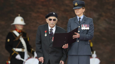 D-Day veteran John Jenkins.