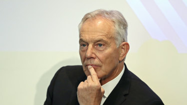 Former British prime minister Tony Blair criticised the move.
