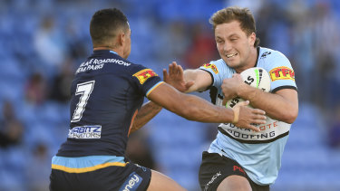 Cronulla star Matt Moylan has put a bad run of injuries behind him to impress in the preseason.