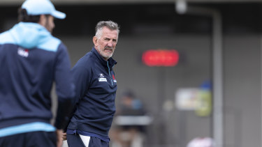Rob Penney was sacked as Waratahs coach this week.