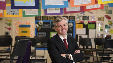 Wesley College Principal Nick Evans says the school will act on advice from Victoria's Chief Health Officer.