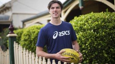 AFL draft prospect Ollie Henry