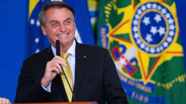 President of Brazil Jair Bolsonaro is already claiming election fraud.