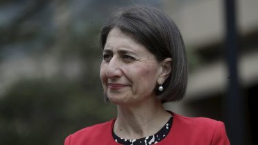 Premier Gladys Berejiklian stressed the ICAC had examined the matter and had not found she had any case to answer.