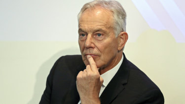 Former British Labour prime minister Tony Blair has blamed the hard left in the party for the recent election loss.