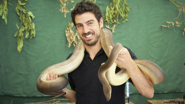 Josh Cox is the owner of Reptile Encounters.