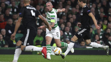 Marquee: Scott Brown, Celtic's captain, is being targeted by the Western Melbourne Group should they gain passage into the A-League.