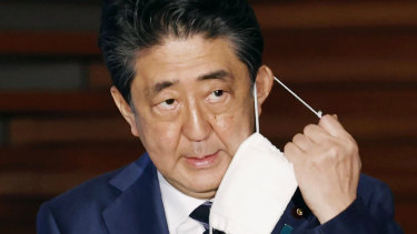 Shinzo Abe's popularity has taken a battering from the pandemic and its economic fallout.