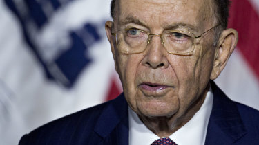 "Donald Trump said US Commerce Secretary Wilbur Ross was ""past his prime"", according to Woodward's book."