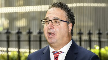 Victorian Chamber of Commerce and Industry chief executive Paul Guerra.
